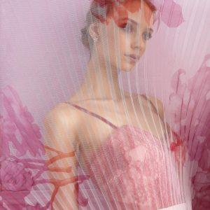 Abito fantasia rosa Allure DETTAGLIO
