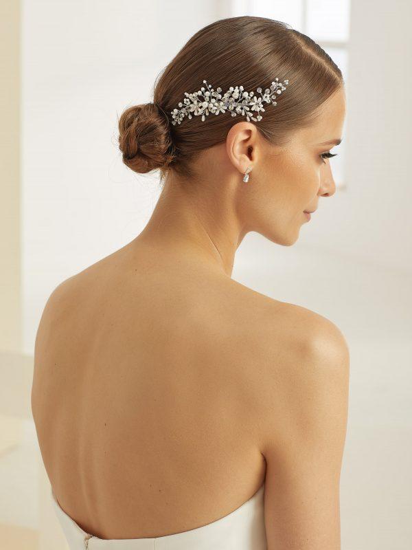 fermacapelli con perle e strass sposa