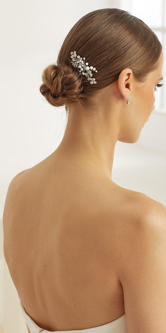Fermacapelli perle e strass