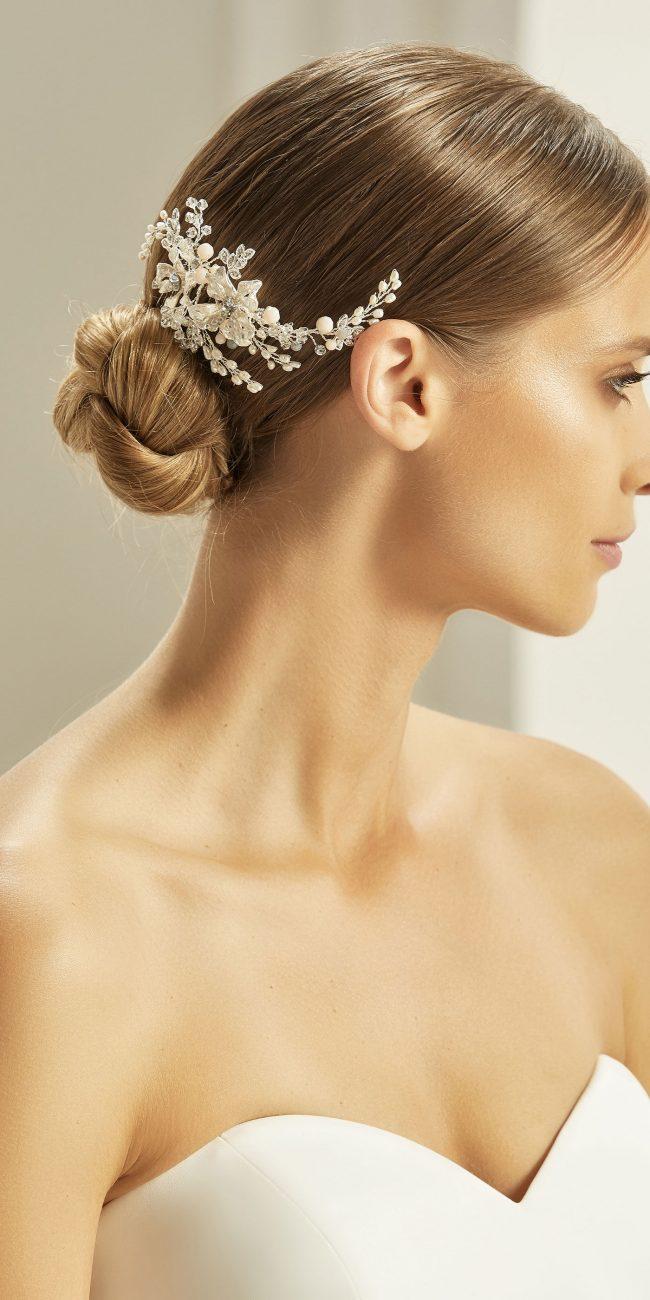 Fermacapelli perline e strass