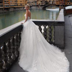 NI12199 Abito da Sposa Latina Nicole RETRO2