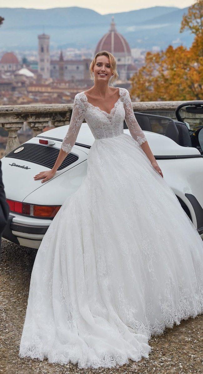 NI121B3 Abito da Sposa Latina Nicole2
