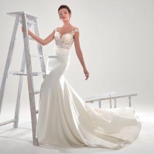 Nicole Spose AUA20421 Aurora moda sposa DAVANTI2