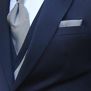Abito da Sposo nero Thomas pina 21 56 000 dettaglio