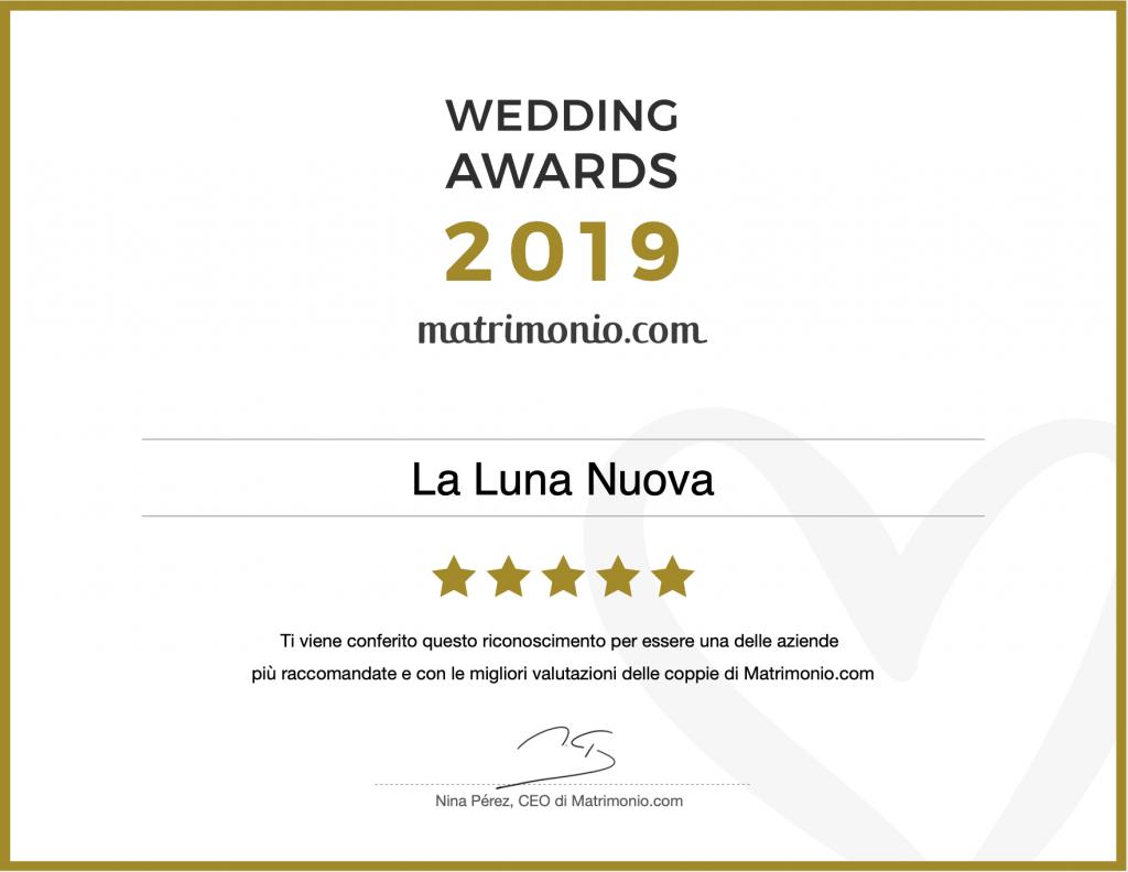 matrimonio.com wedding awards