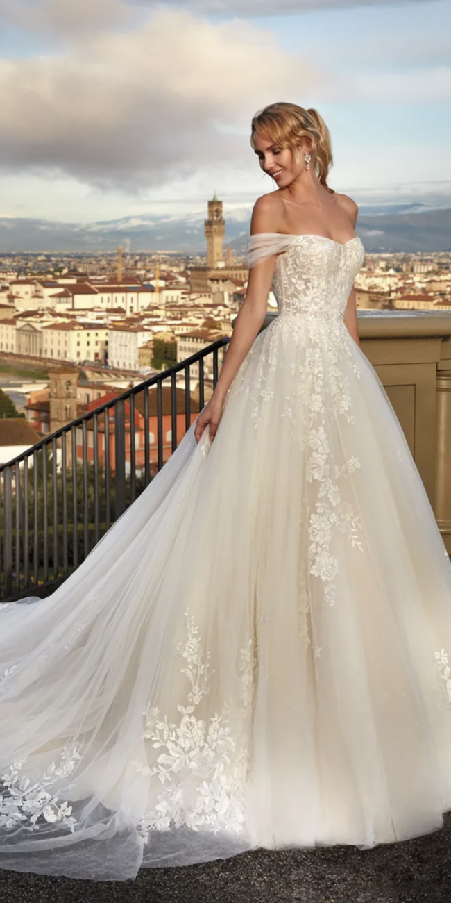 Abito da Sposa NI121A5 Nicole Spose Atelier La Luna Nuova