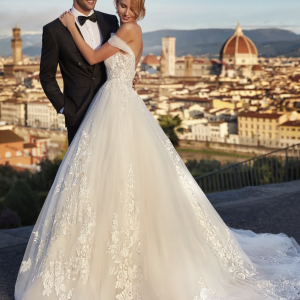 Abito da Sposa NI121A5 Nicole Spose Atelier La Luna Nuova dettaglio
