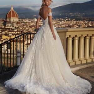 Abito da Sposa NI121A5 Nicole Spose Atelier La Luna Nuova retro