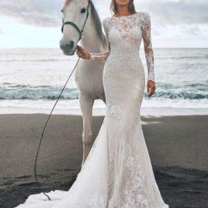 abito da sposa panjin pronovias